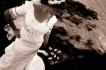 Handmade Irish lace wedding gown