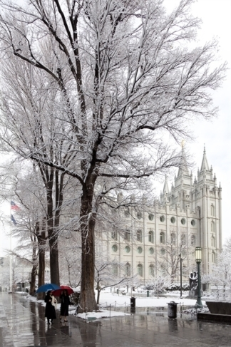 The Salt Lake City Temple by Robert A. Boyd